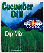 cucumber dill dip and dressing mix