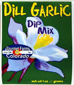 dill garlic dip dressing mix