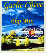 Garlic Chives Dip Mix