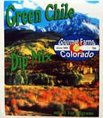 Green Chili Dip Mix